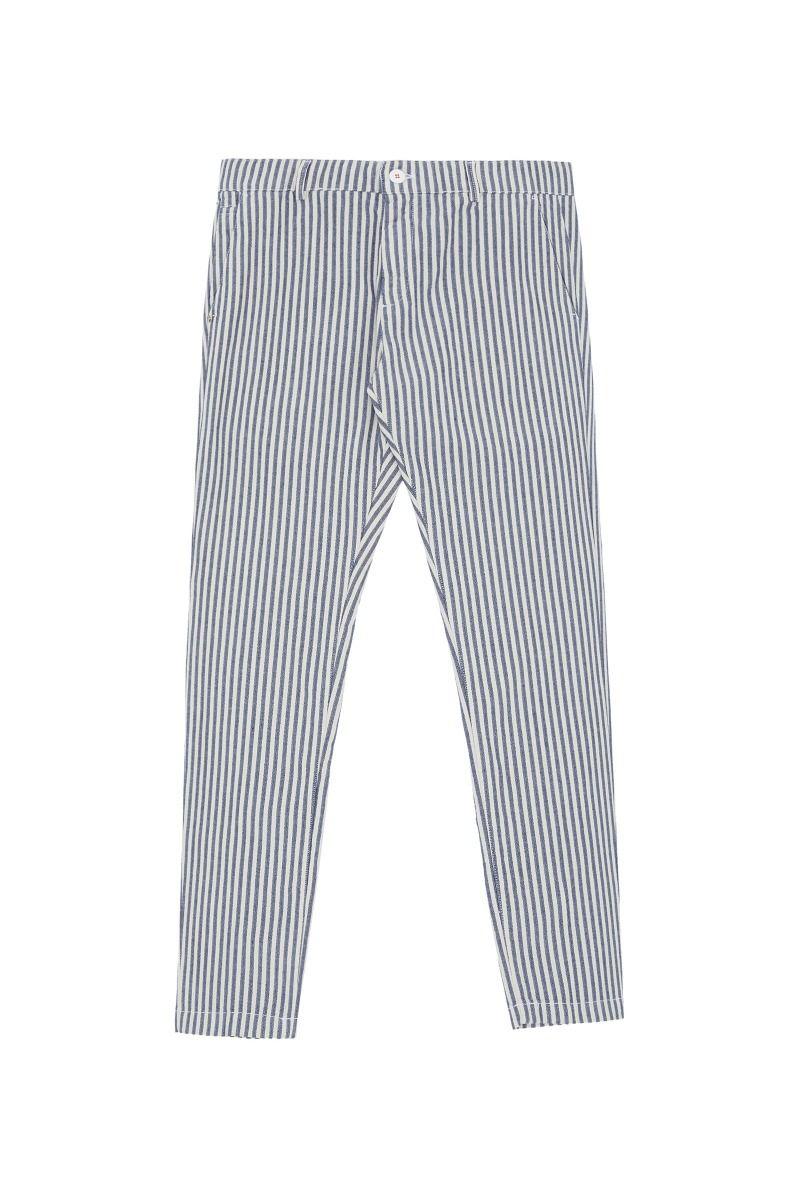 Pantalone basic rigato