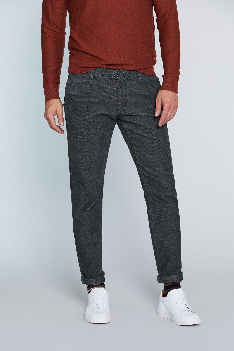Pantalone tasca America effetto velluto