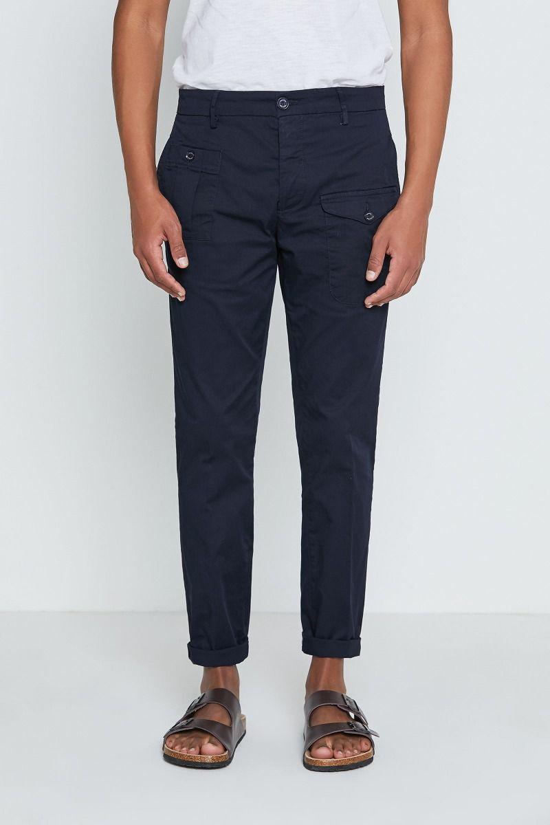 Pantalone tinto pezza new cargo