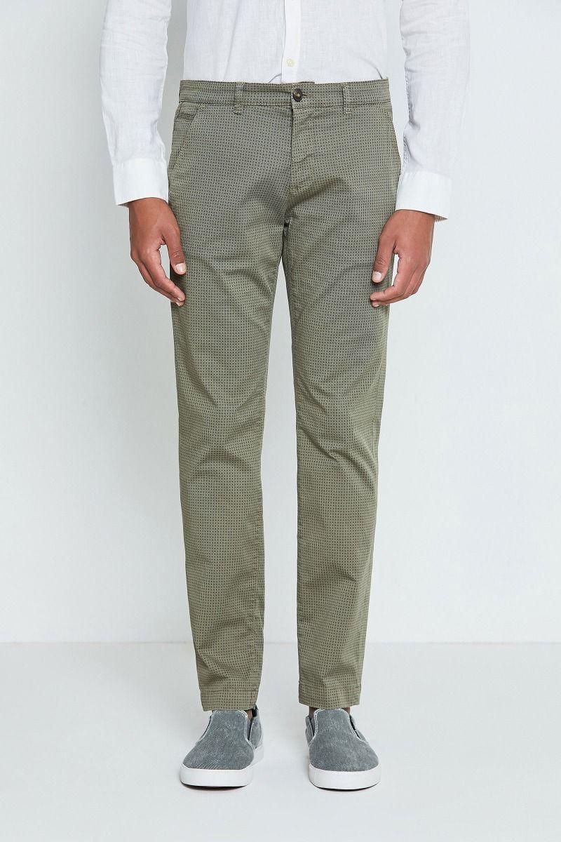 Pantalone cotone con stampa