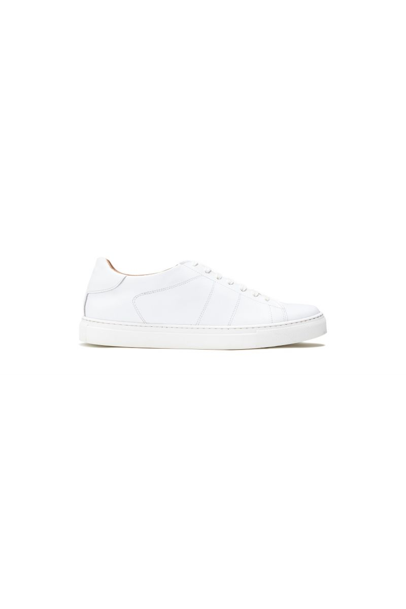 Sneaker uomo in pelle