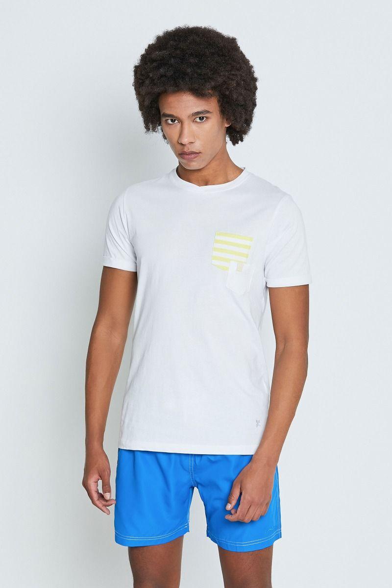 T-shirt taschino righe